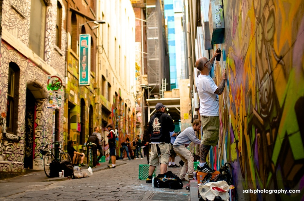 Melbourne streets -  17